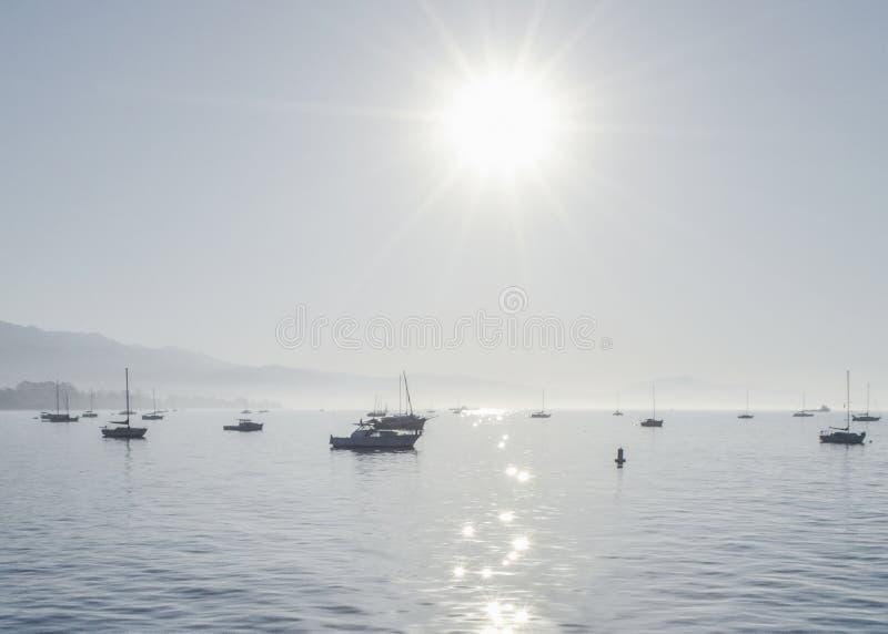 Sunny Day in Santa Barbara stock photography