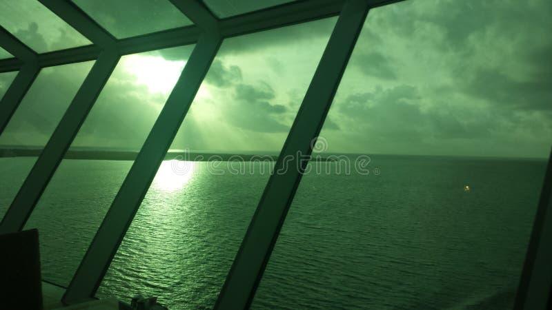 Sunny Day At Sea stock photos