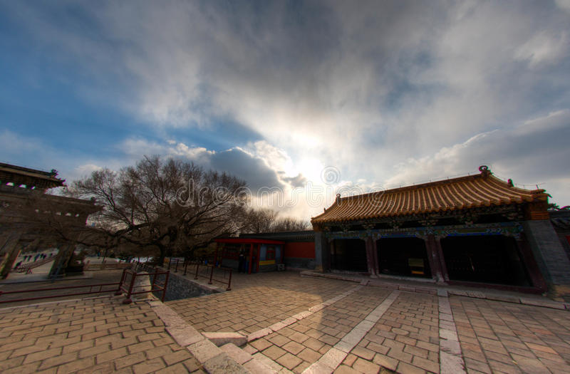 Sunny day in Shenyang royalty free stock photo