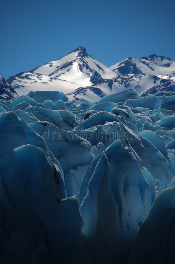 Download Sunny glacier stock image. Image of south, patagonia - 13482141