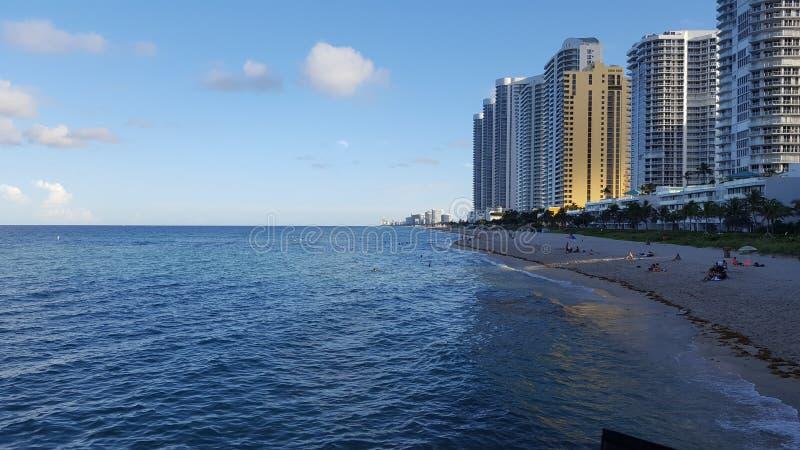 Sunny Isles Beach Miami imagens de stock royalty free