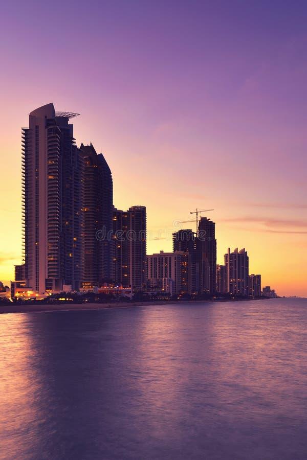 Sunny Isles Beach, Miami lizenzfreies stockbild