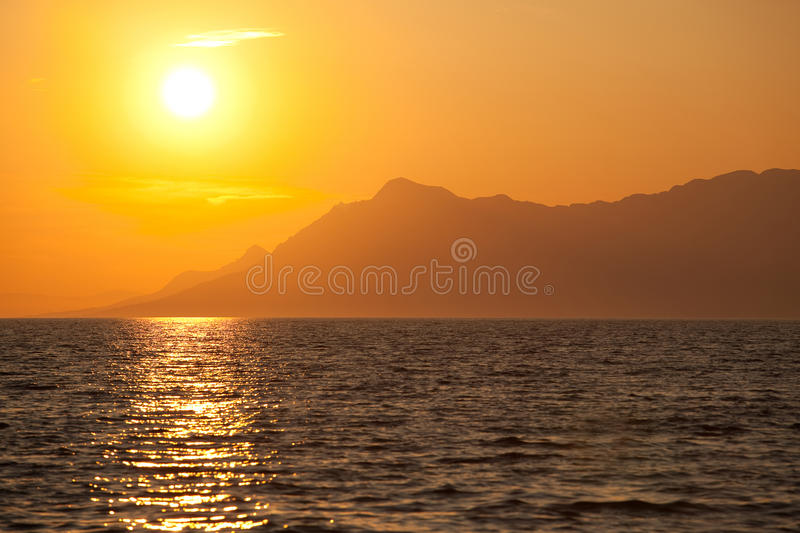 Sunny Landscape 2. This is a dreamy landscape royalty free stock image