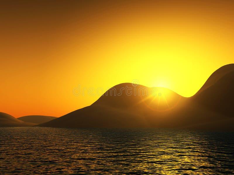 Sunny Landscape 2 Free Stock Image