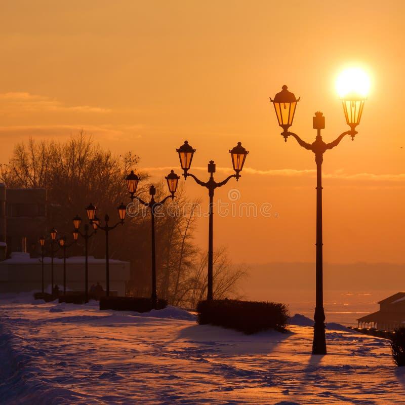 Sunny lantern royalty free stock images