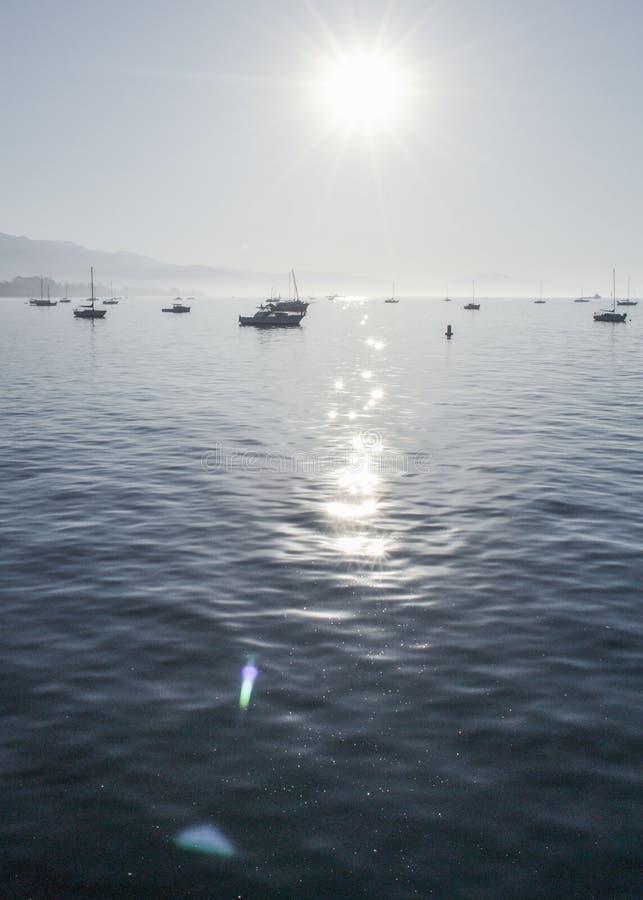 Sunny Morning in Santa Barbara stock photo
