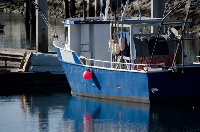 Morning at Seaport marina stock photography