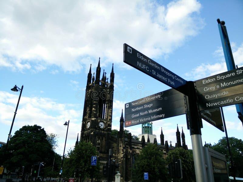 Sunny Newcastle photos stock