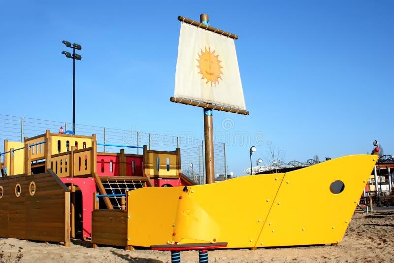 Download Sunny playground. stock image. Image of sandbox, happy - 12746865