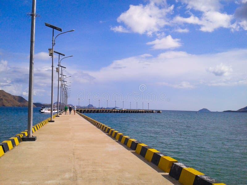 Sunny port royalty free stock photography