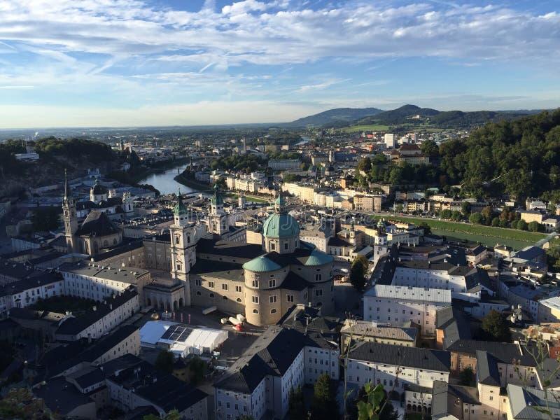Sunny Salzburg immagine stock libera da diritti
