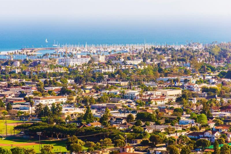 Sunny Santa Barbara California lizenzfreies stockbild