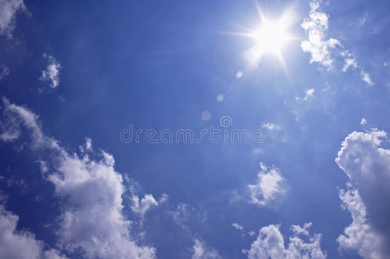 Download Sunny Skies stock image. Image of happy, blue, weather - 199667