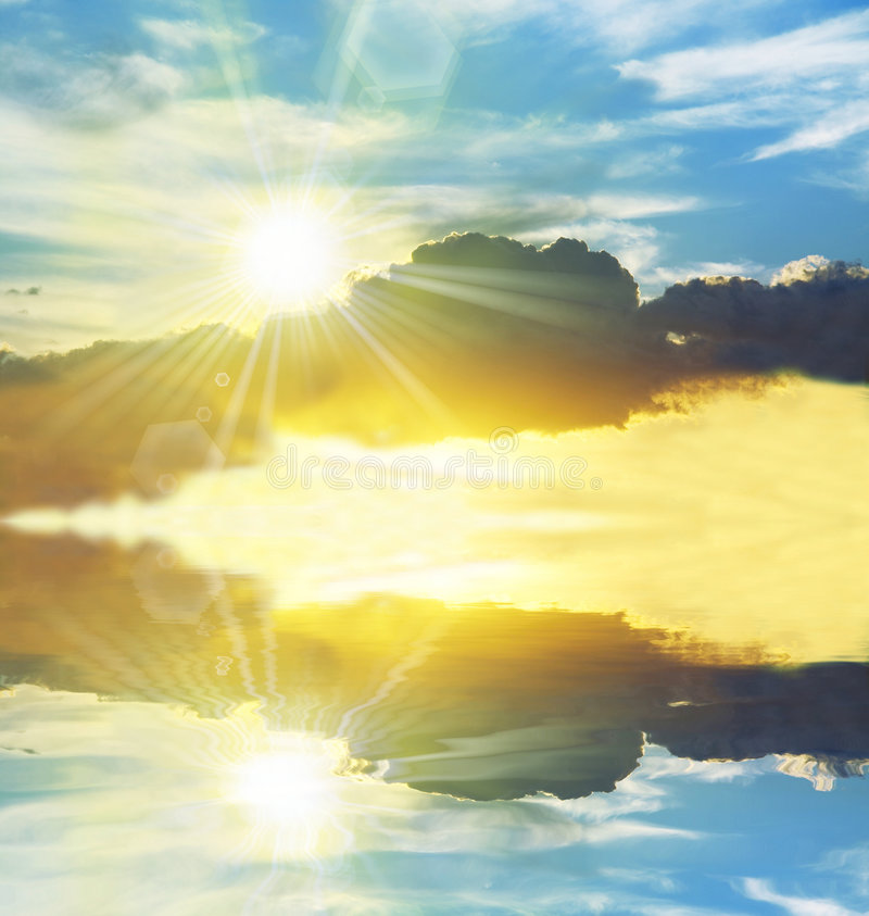 Download Sunny Sky Stock Photography - Image: 7489142