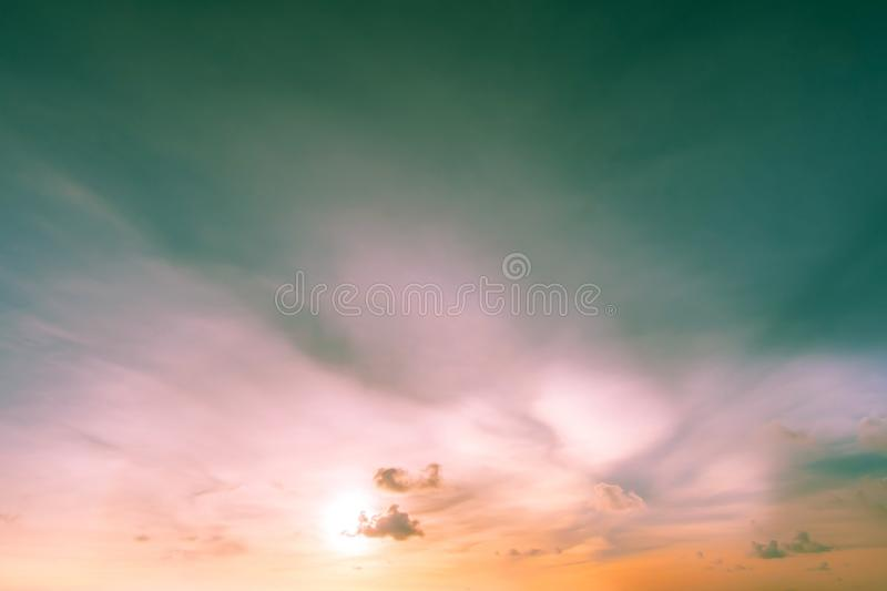 Sunny sky abstract background, beautiful cloudscape. Sunny and sky abstract background, beautiful cloud scape. freedom concept royalty free stock photos