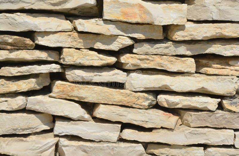 Sunny Stone Wall foto de archivo