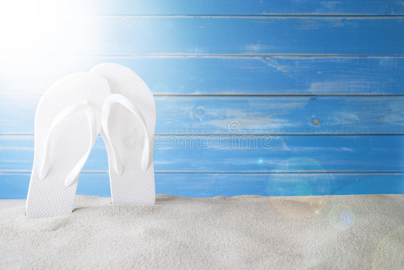 Sunny Summer Background With Copy Space For Advertisement stock photos