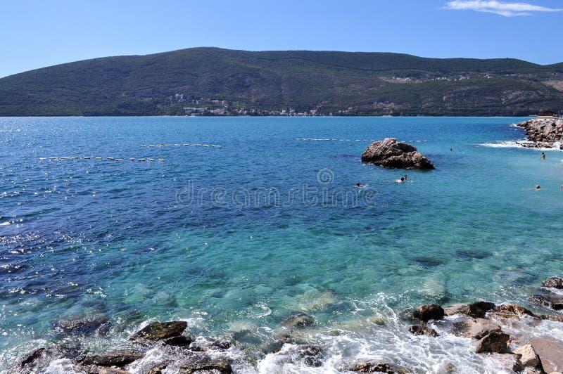 Sunny summer bay stock photography