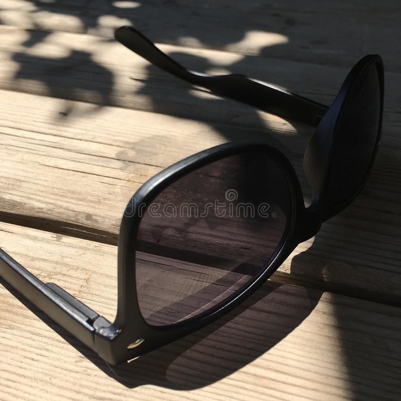 Sunny sunglasses stock photo