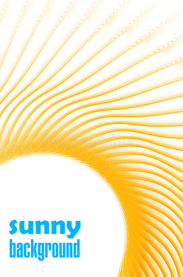 Download Sunny template stock illustration. Illustration of heat - 24314575