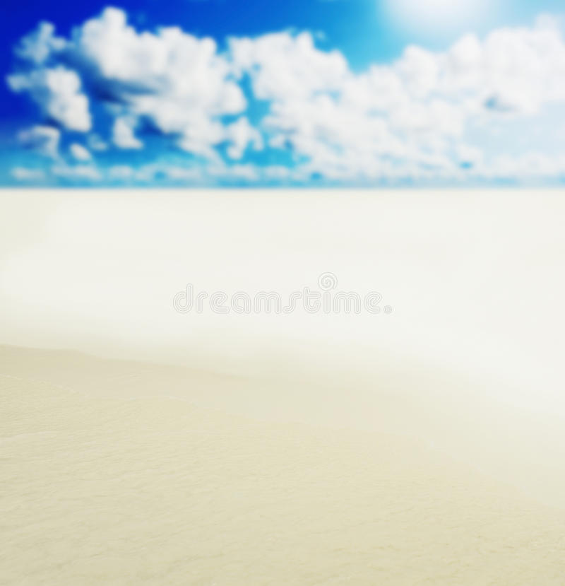 Download Sunny Tropical Beach On The Island Stock Photo - Image: 29039830