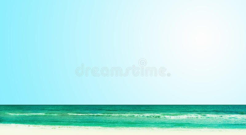 Download Sunny Tropical Beach On The Island Royalty Free Stock Image - Image: 29039916