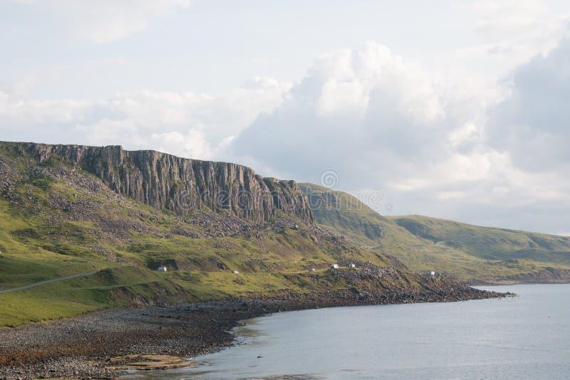 Sunny view, Isle of Skye royalty free stock photo