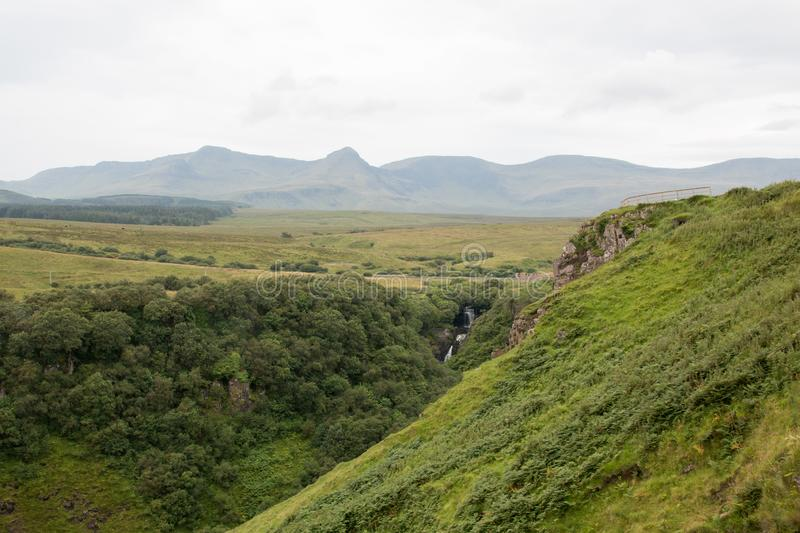 Sunny view, Isle of Skye royalty free stock photography