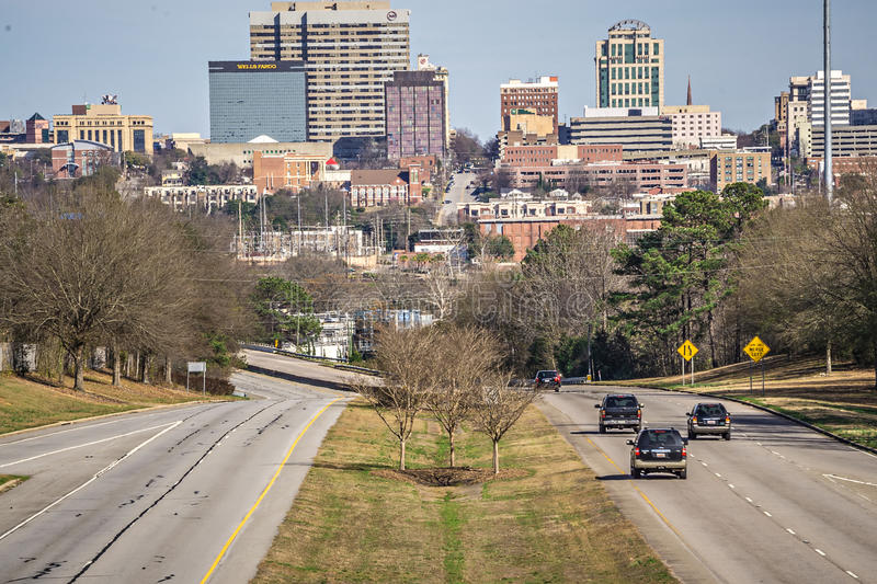 Sunny weather in columbia south carolina royalty free stock photography