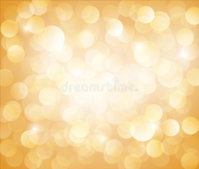 Download Sunny Yellow Vector Bokeh Background Stock Vector - Image: 23329436