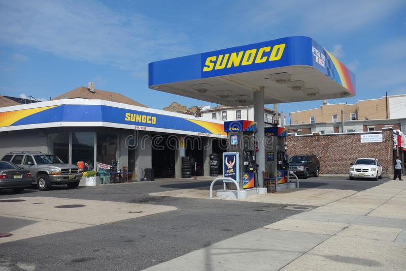 Sunoco Gas Station stock image