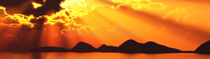 sunray photographie stock