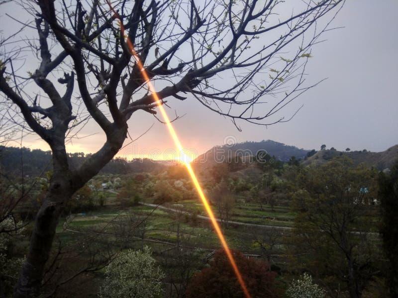 Sunrays στοκ φωτογραφίες με δικαίωμα ελεύθερης χρήσης