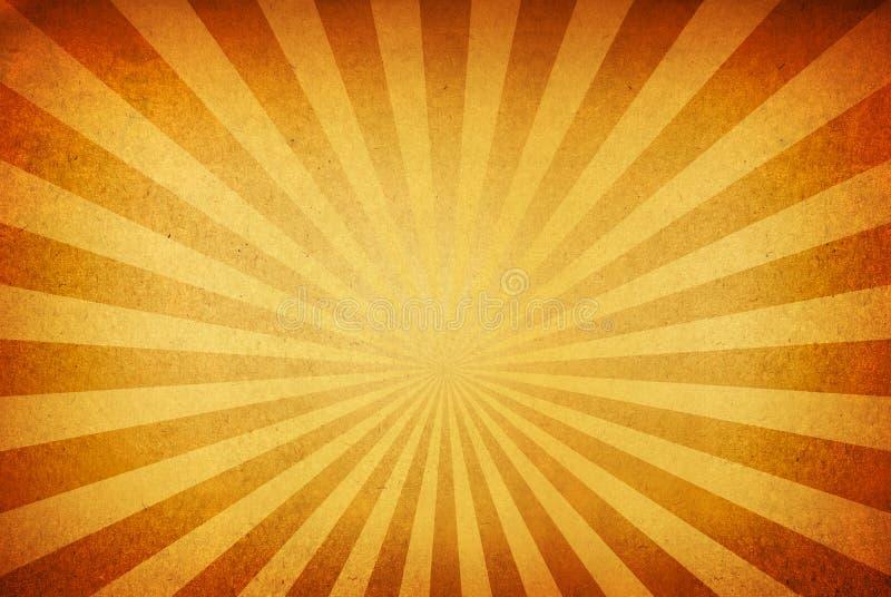 Sunrays sur un fond sale illustration de vecteur