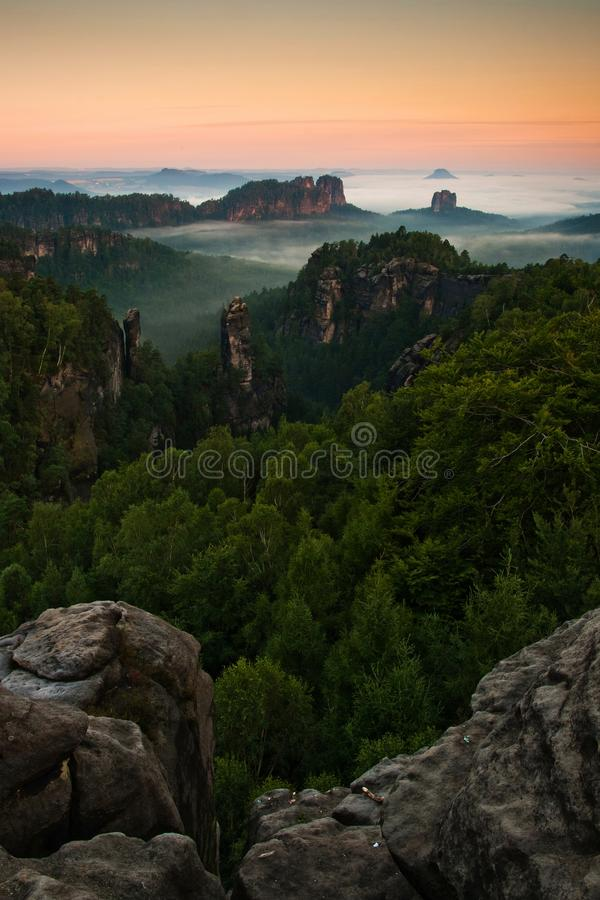 Free Sunrice In Mountains Royalty Free Stock Image - 26026346
