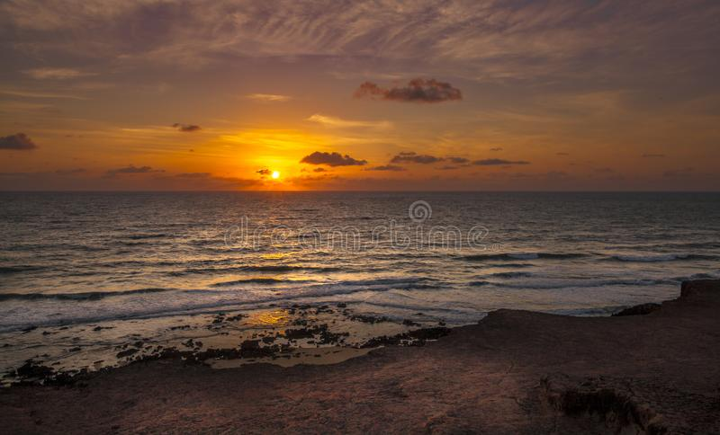 Sunrice Pipa, Tibau do Sul - Rio Grande do Norte, Brazil royalty free stock photo