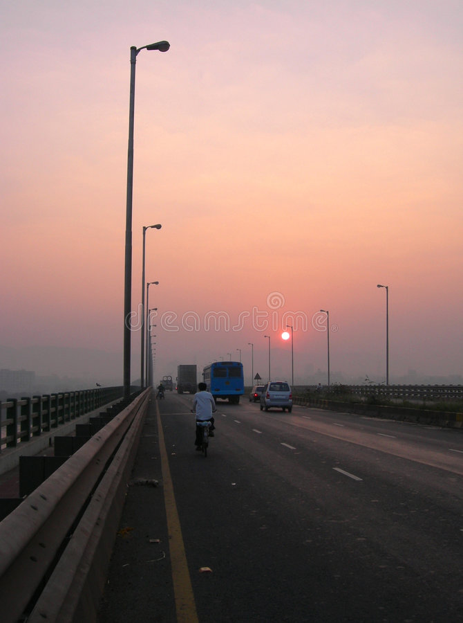 Download Sunrise stock photo. Image of journey, road, travel, morning - 1851052