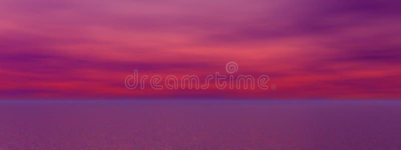 Download Sunrise stock illustration. Illustration of color, cloudscape - 23400086