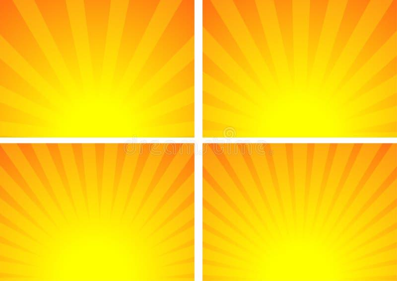 Download Sunrise stock vector. Image of flare, sunrays, laser - 25511295