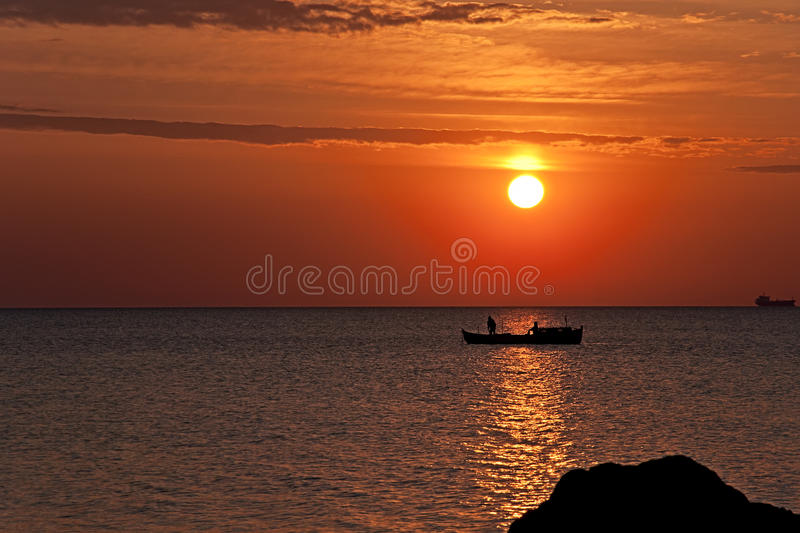 Download Sunrise stock image. Image of morning, sunrise, seascape - 25953805