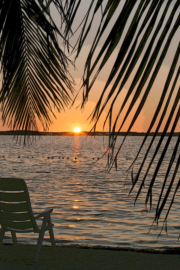 Download Sunrise stock photo. Image of peace, early, serene, surf - 261774