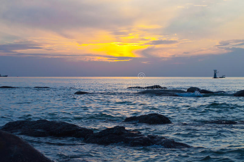 Sunrise. stock photography
