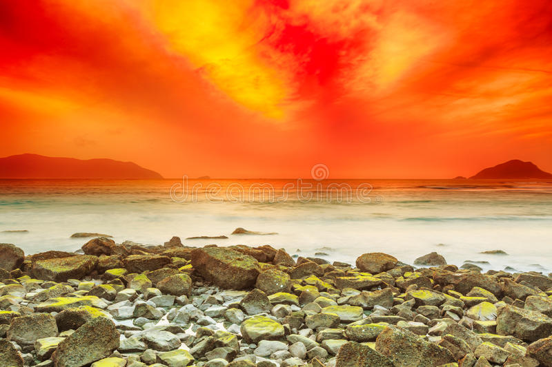 Download Sunrise stock photo. Image of background, shore, outdoor - 26339470