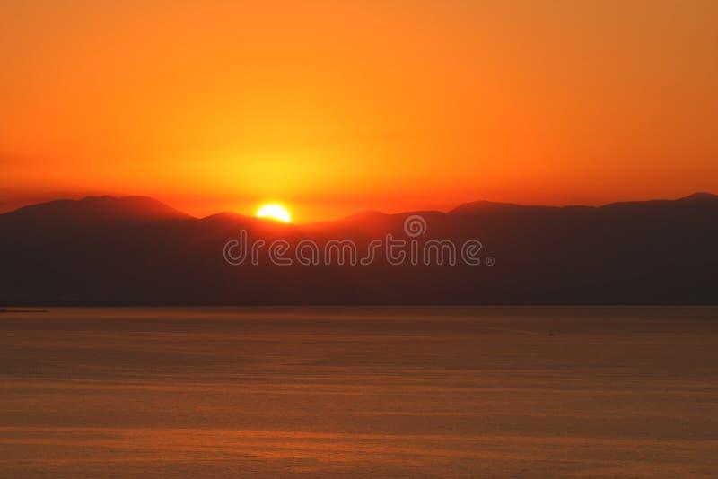 Sunrise Mountain Sea