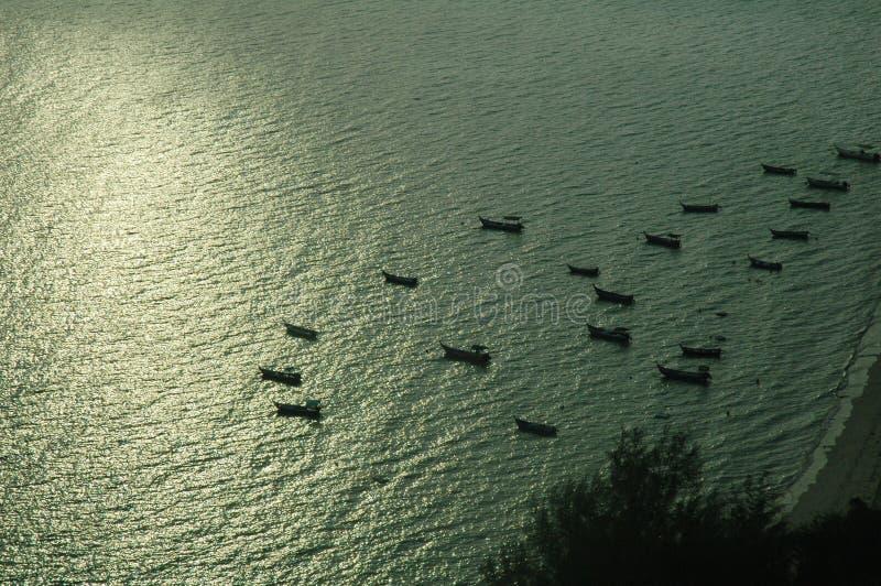 Download Sunrise stock photo. Image of peaceful, night, cloudy, lake - 531448