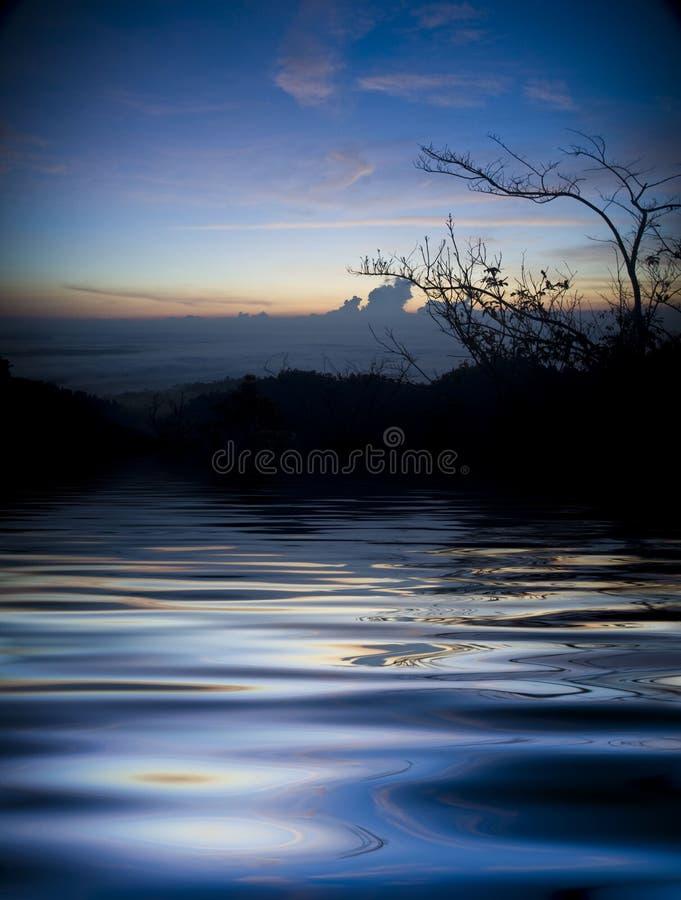 Download Sunrise stock photo. Image of lake, blue, global, beautiful - 6180806