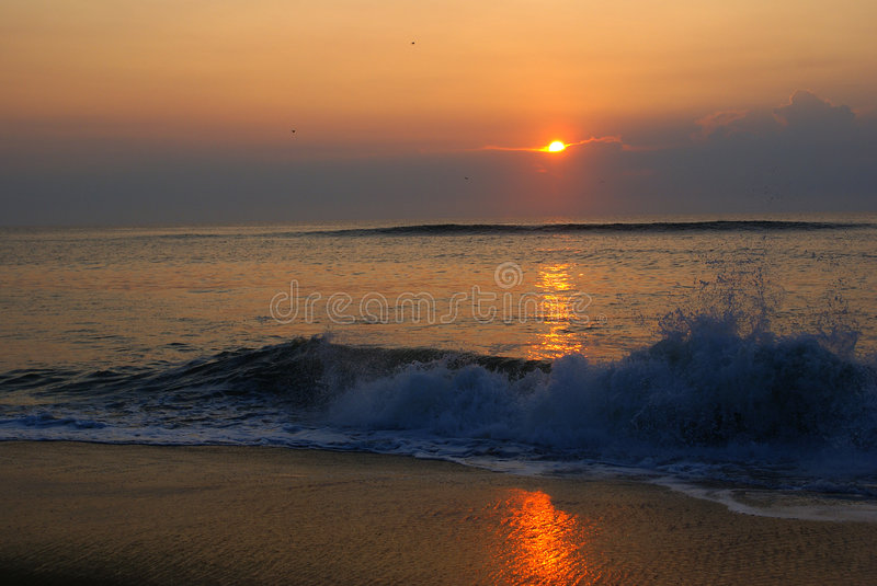 Download Sunrise stock photo. Image of reflection, water, rising - 6296536