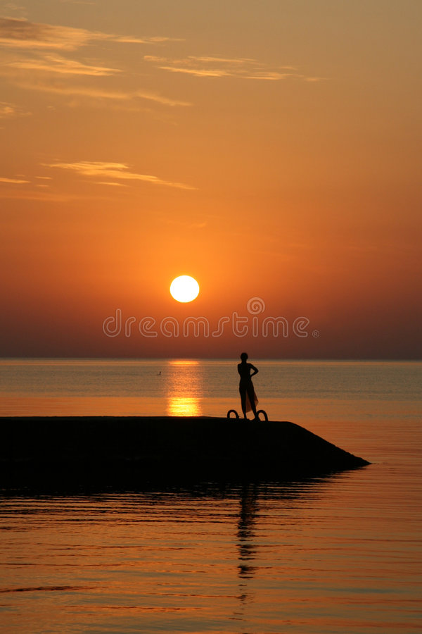 sunrise 免版税库存图片