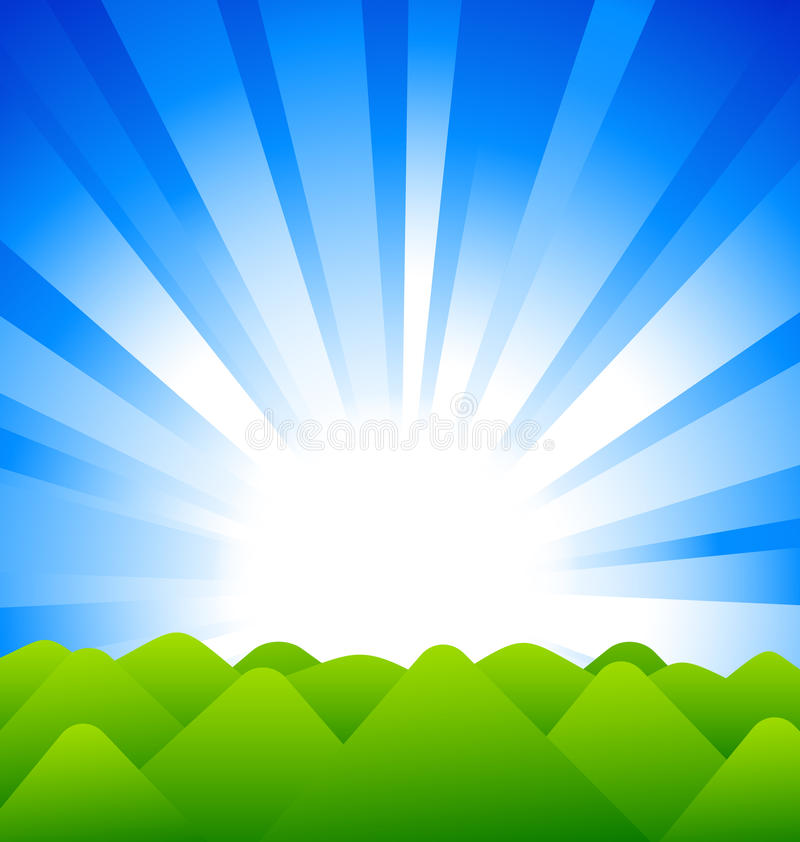 Download Sunrise Above Hills Royalty Free Stock Photo - Image: 25200055