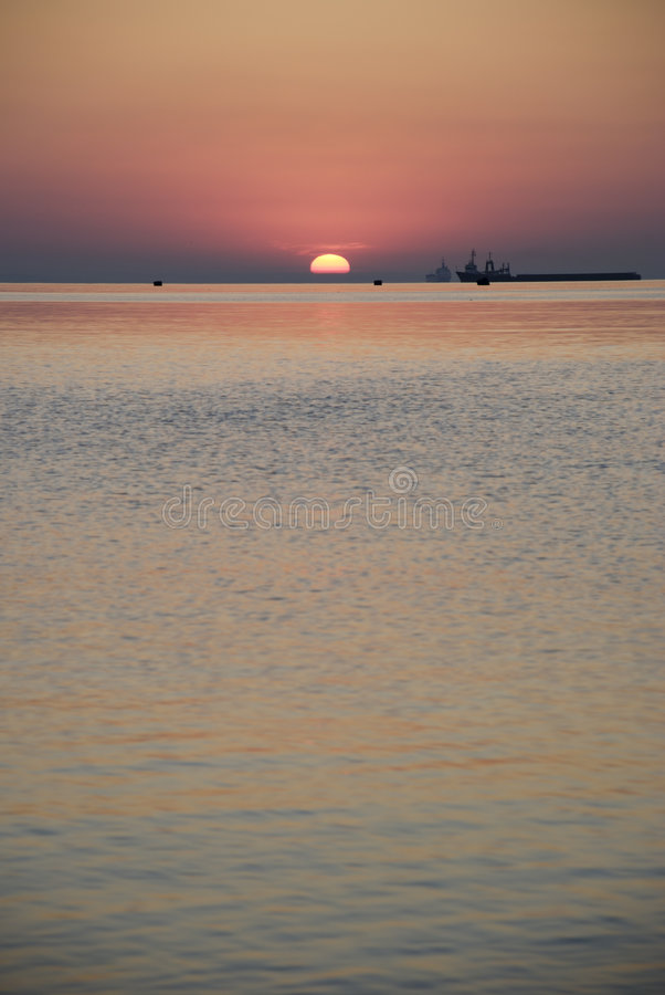 Download Sunrise Above Ocean Stock Images - Image: 3003294